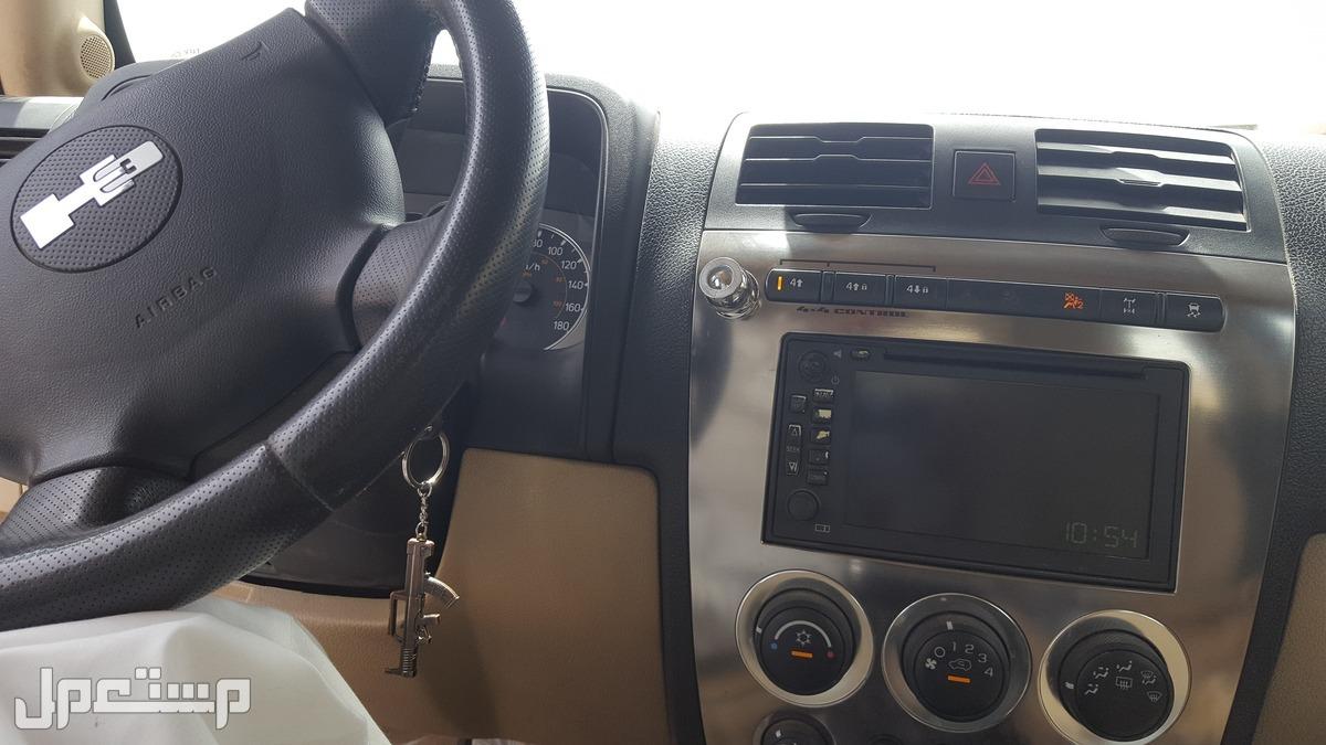 سياره همر اتش3 موديل لون ازرق2008 مستعملة للبيع