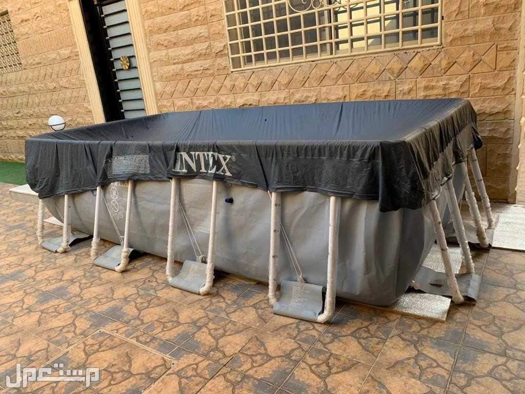 للبيع مسبح INTEX مقاس 4x2 متر  عمق1منر