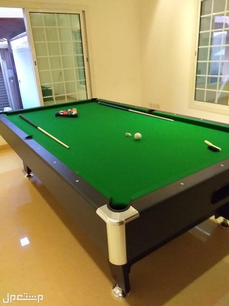 طاولة بلياردو حجم كبير طول 9 قدم