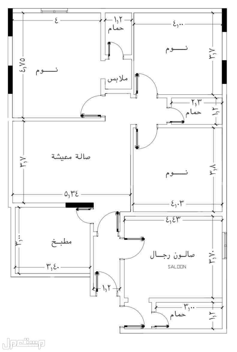 شقق وملاحق للبيع تحت الانشاء في مخطط سندس الجديد بوابه التحليه