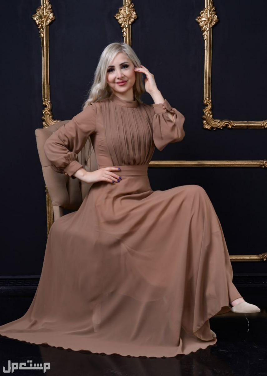 فستان شيفووون