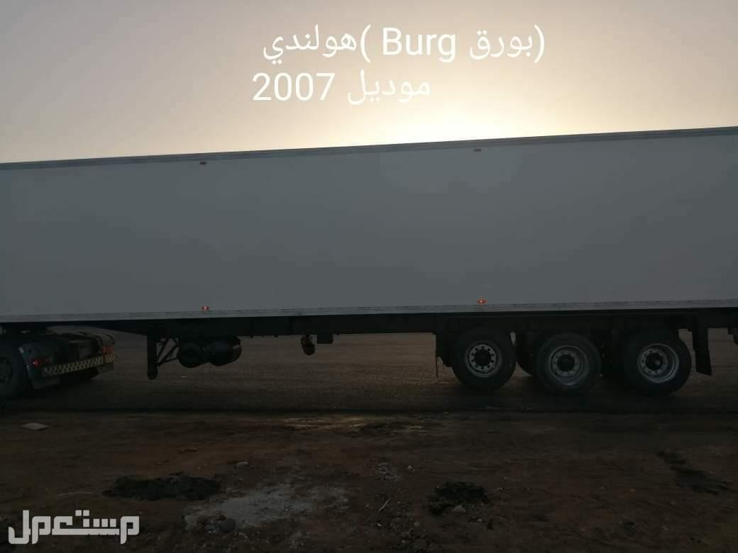 ثلاجات مقطوره شاسيه كامل عريض موديل 2007
