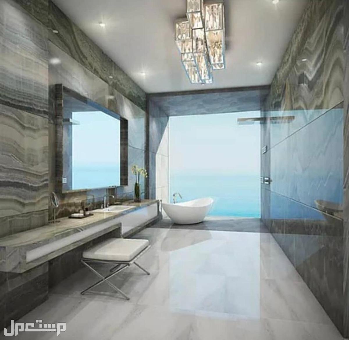 تملك البحر في منتجع المهرة الفندقي مع عوائد استثمارية مضمونة بالعقد 8% اطلالات الحمامات على البحر ايضا