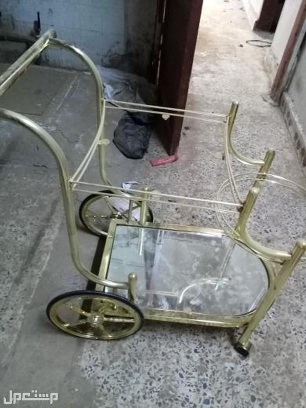 دراجه استقبال ذهبيه حلويات متحركه