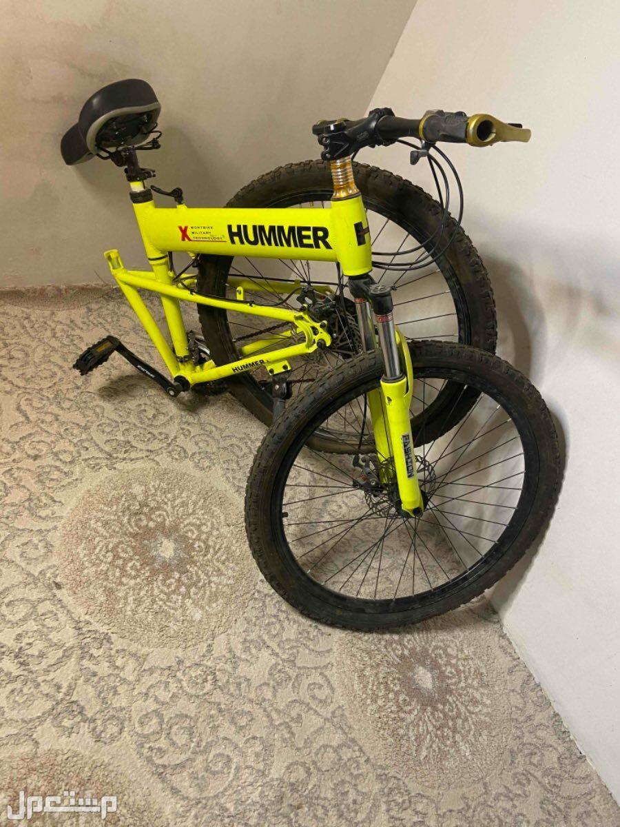 دراجة تتسفط(جديدة) مع ملحقات