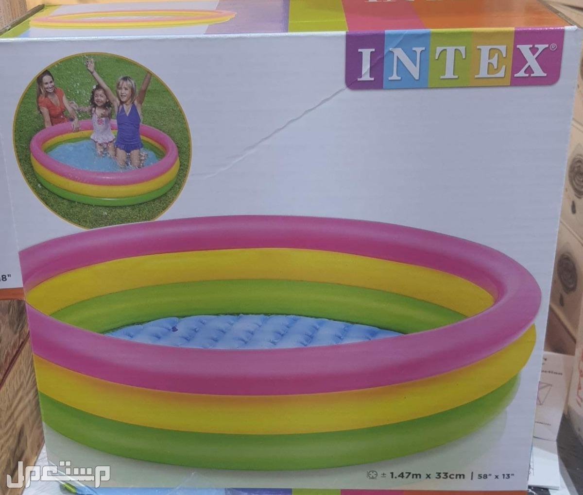 مسبح بلاستيك للأطفال متوفر بمقاسين