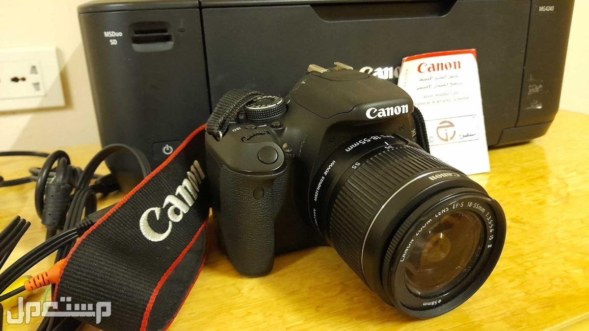 كاميرا كانون +طابعة كانون