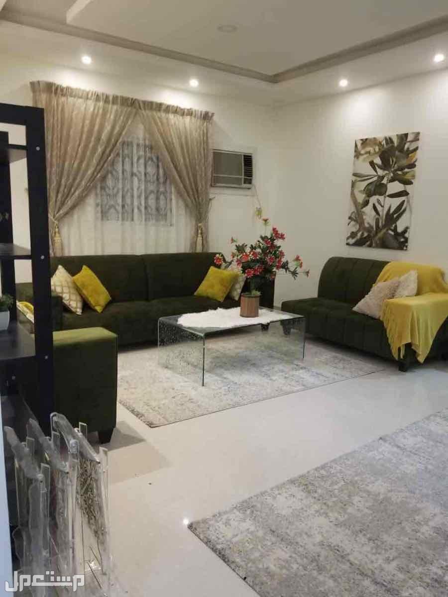 شقة مؤثثة بالكامل في الجبيلة شمال الرياض الصالة