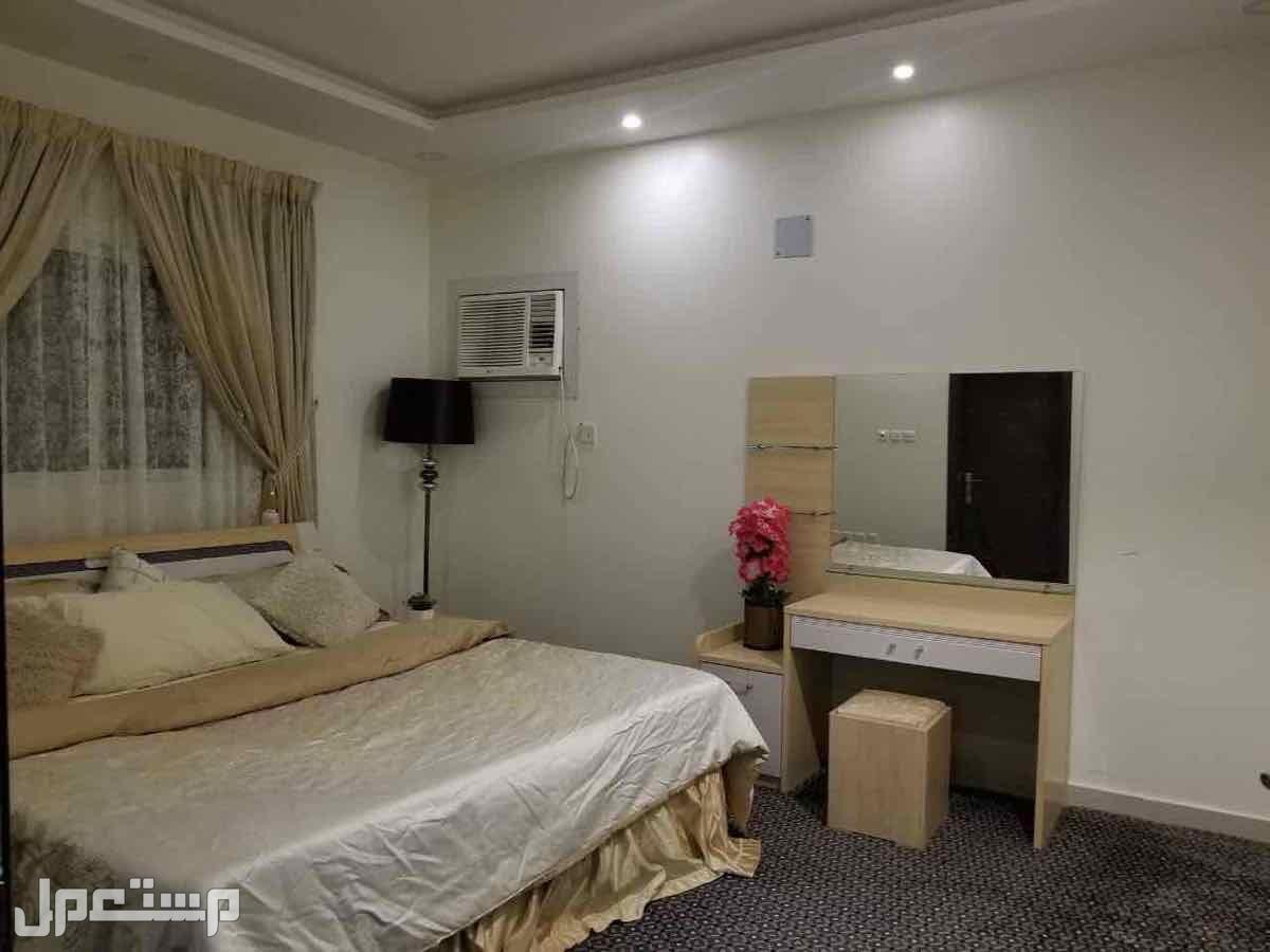 شقة مؤثثة بالكامل في الجبيلة شمال الرياض النوم الرئيسية