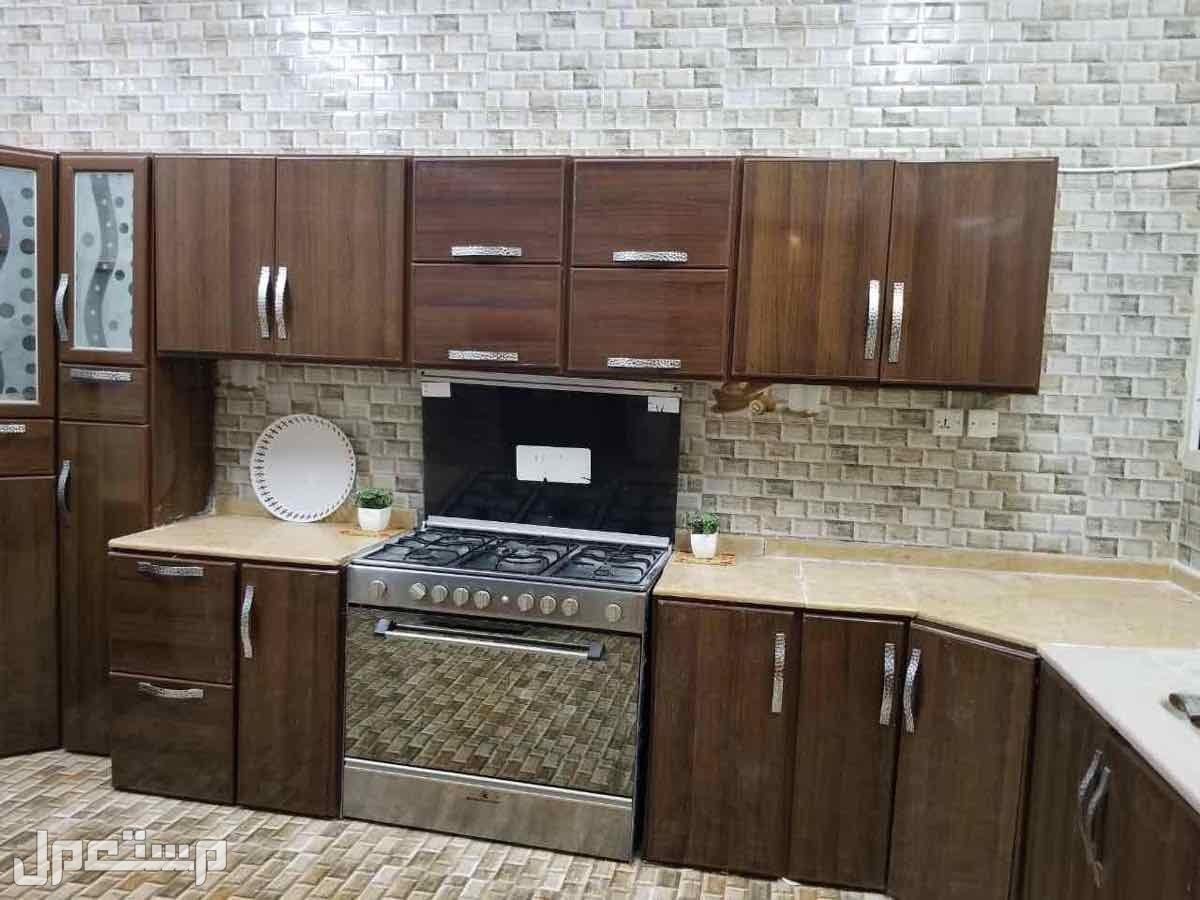 شقة مؤثثة بالكامل في الجبيلة شمال الرياض مطبخ