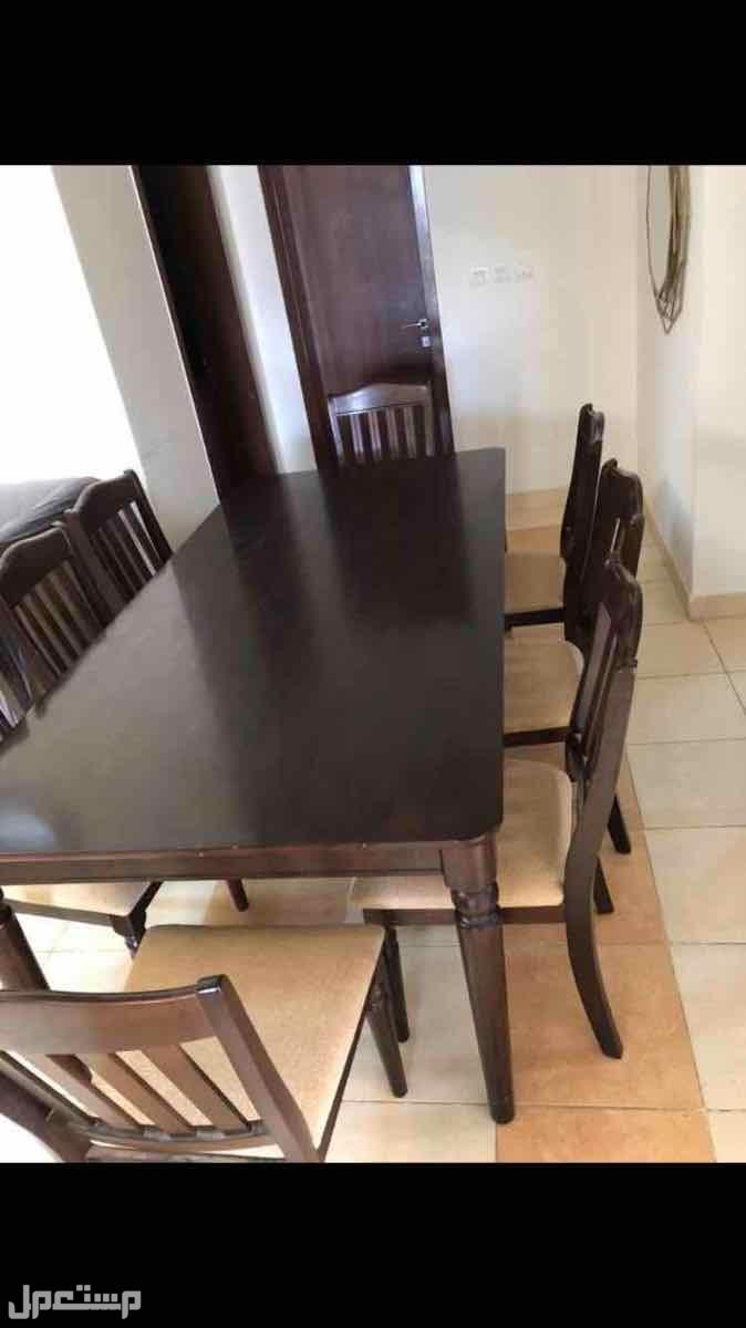 طاولة طعام من هوم سنتر 8 كراسي