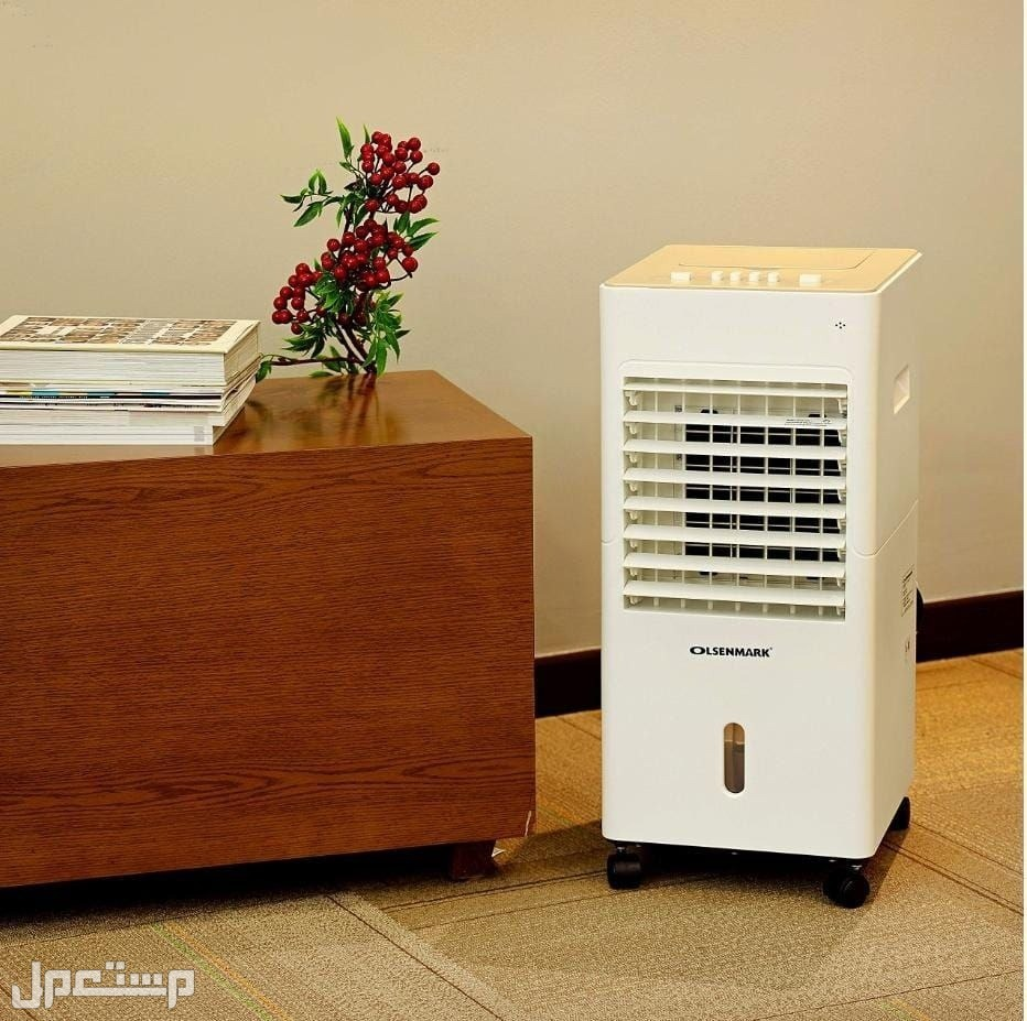 مبرد هواء صحراوي 3 سرعات بقوة 65 واط من Olsenmark يعمل كمبرد ومنقي هواء