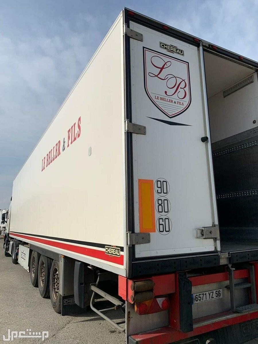ثلاجات براده تجميد للحوم و نقل دولى أمن