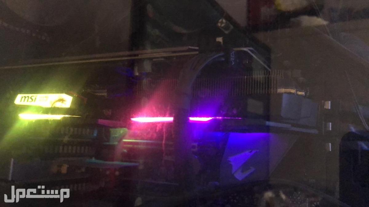 تجميعة العاب rtx 2060 + شاشة + ماوس وكيبورد