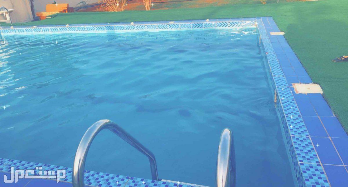 استراحة بمسبح للايجار اليومي