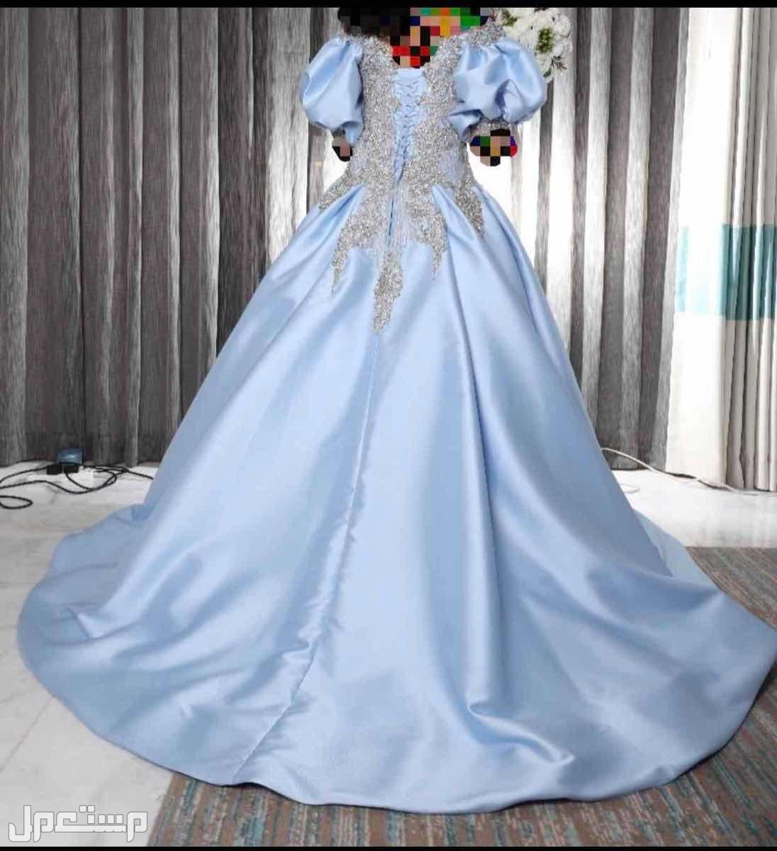 فستان عروسه (ملكة -شبكة )