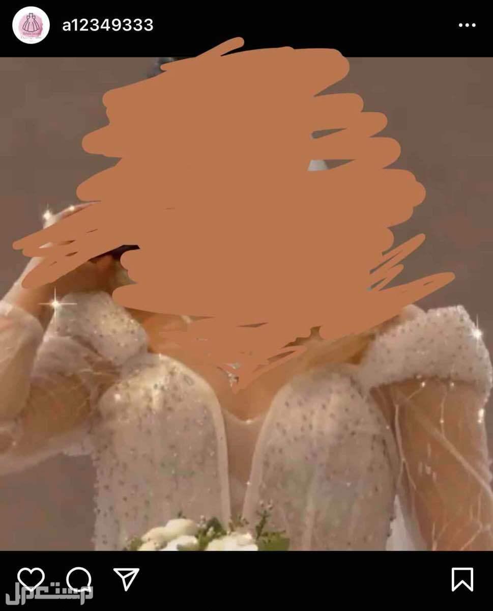 #فستان عروس للبيع 1000