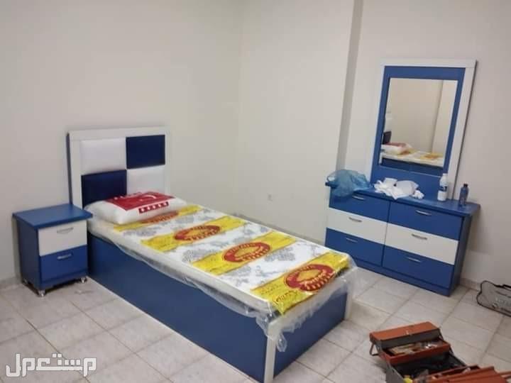 غرفة نوم نفرين كاملة 2150 شامل التوصيل والتركيب