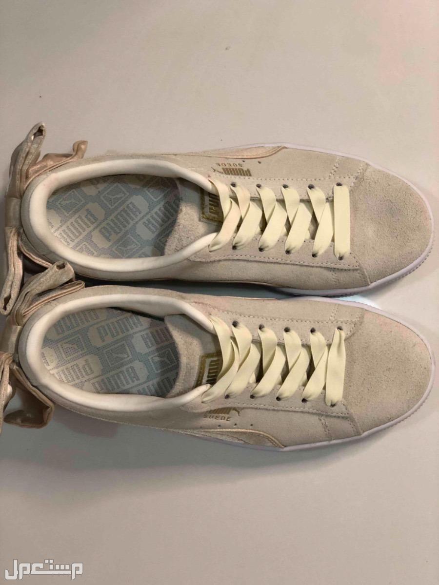 حذاء نسائي ماركة بوما مقاس 37