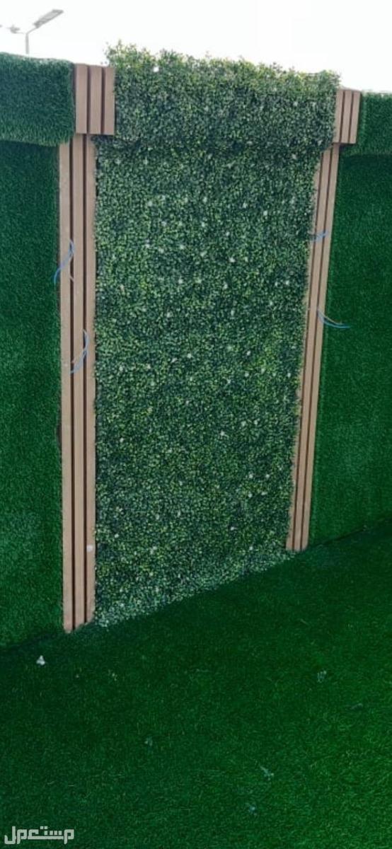 تنسيق_حدائق عشب صناعي وبديل الخشب