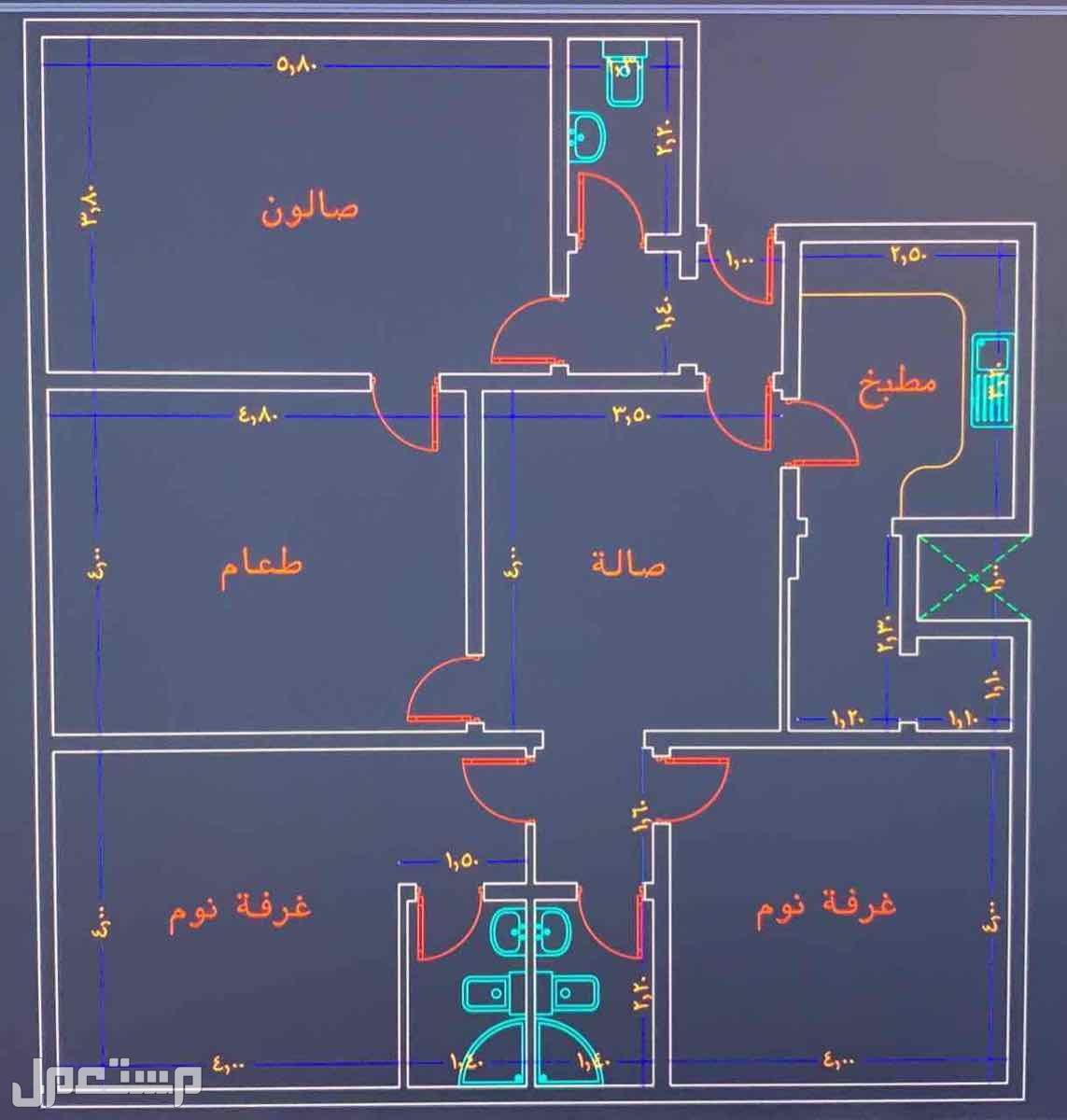 شقة للبيع حي المروة - جدة