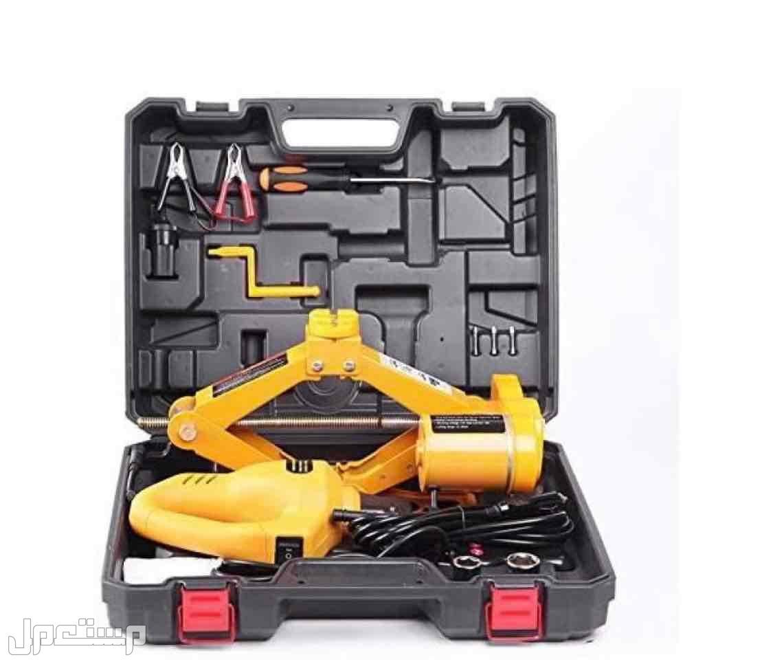 مجموعة رافعة ارضية السيارة الكهربائية 12 فولت مع مفتاح تاثير لسيارة سيدان ل