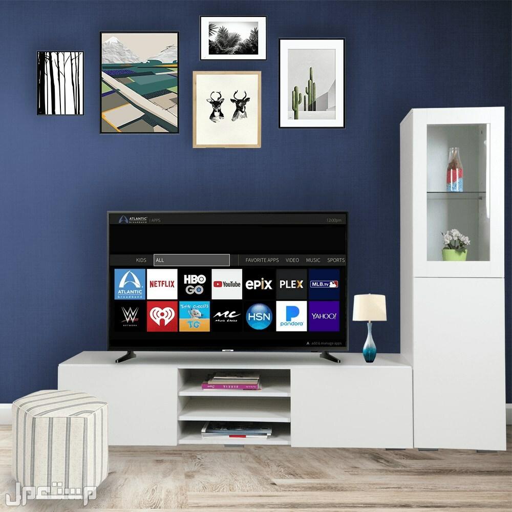طاولة تلفزيون مع خزانه جانبيه لخدمتك بشكل سريع ارسل طلبك واتس