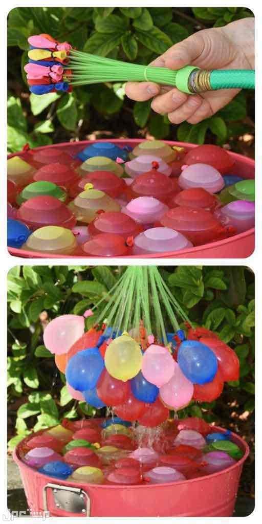 بالونات الماء ذاتية الإغلاق تصميم سهل ورائع