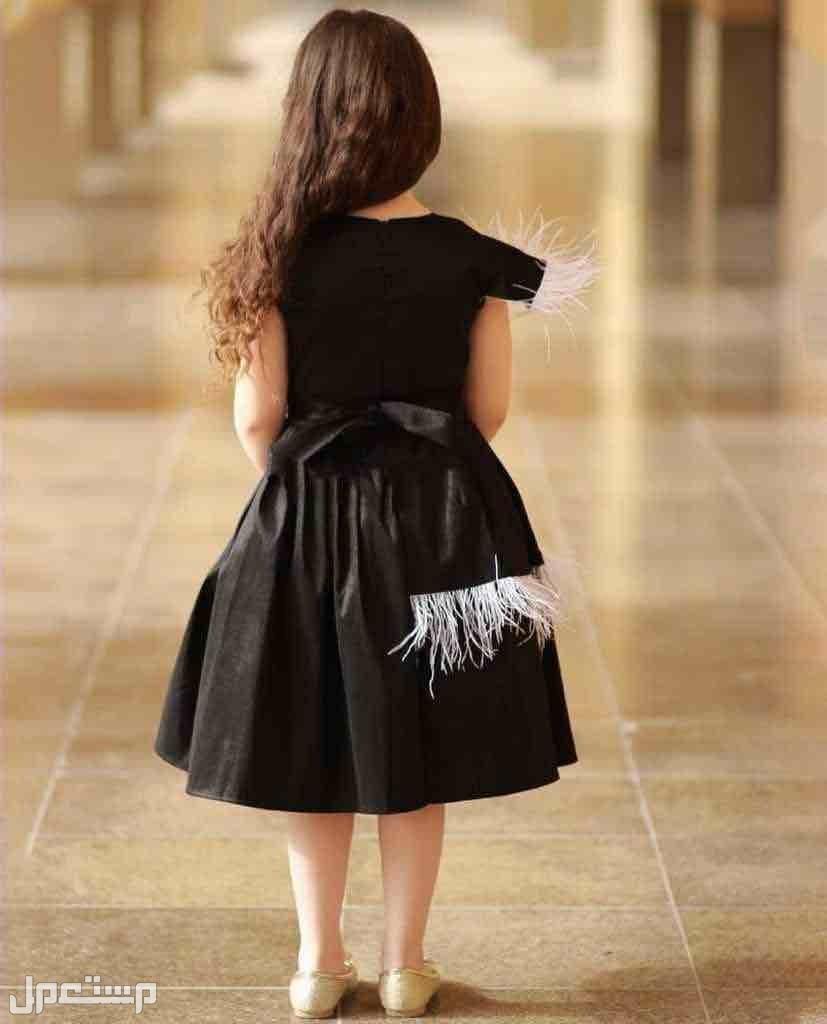 فستان بناتي تطريز الاسم حسب الطلب