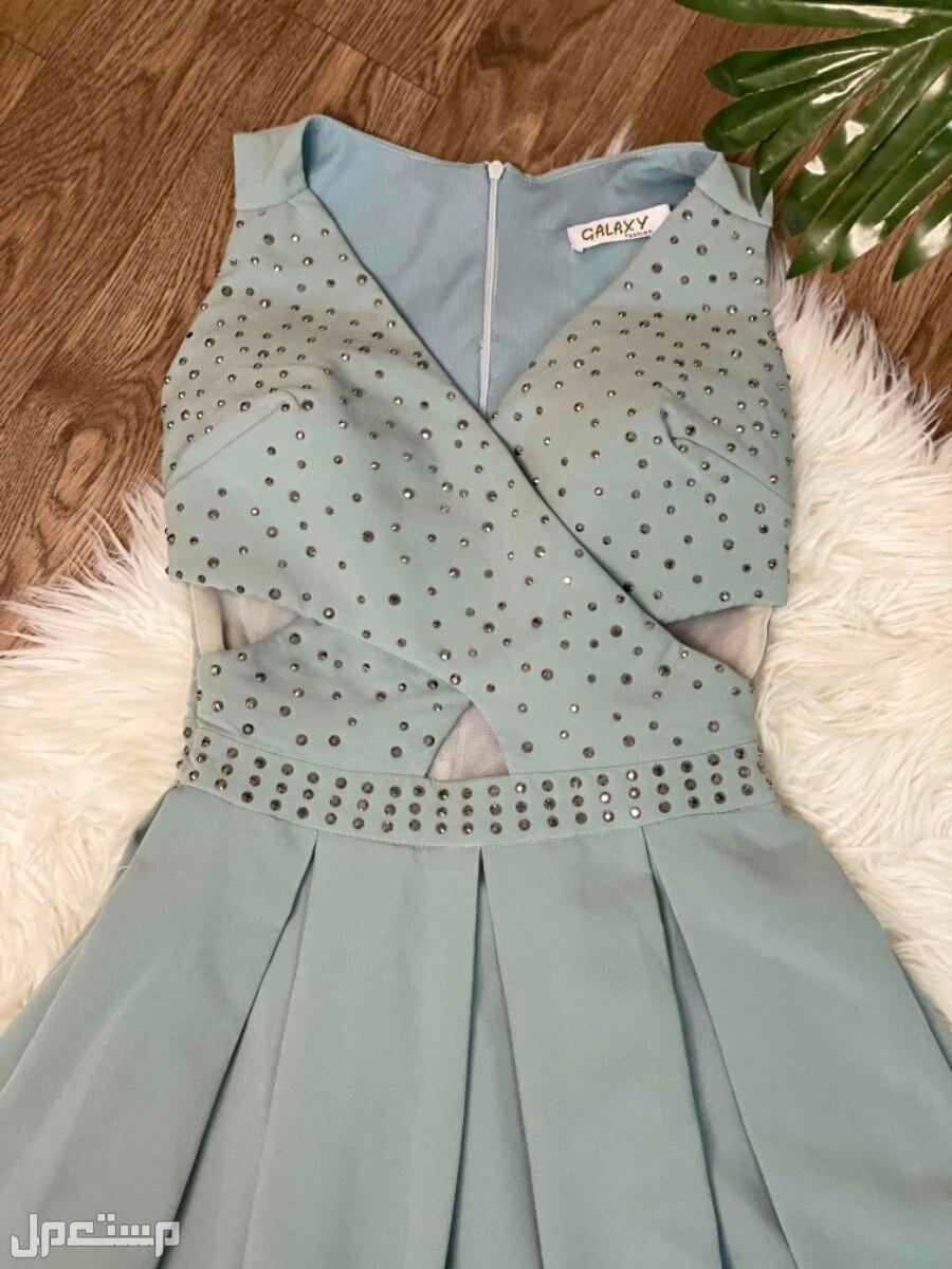 الحوية - مثملة فستان سهرة ناعم طويل مستعمل مره واحدة جديد و نظيف يلبس مديم و سمول