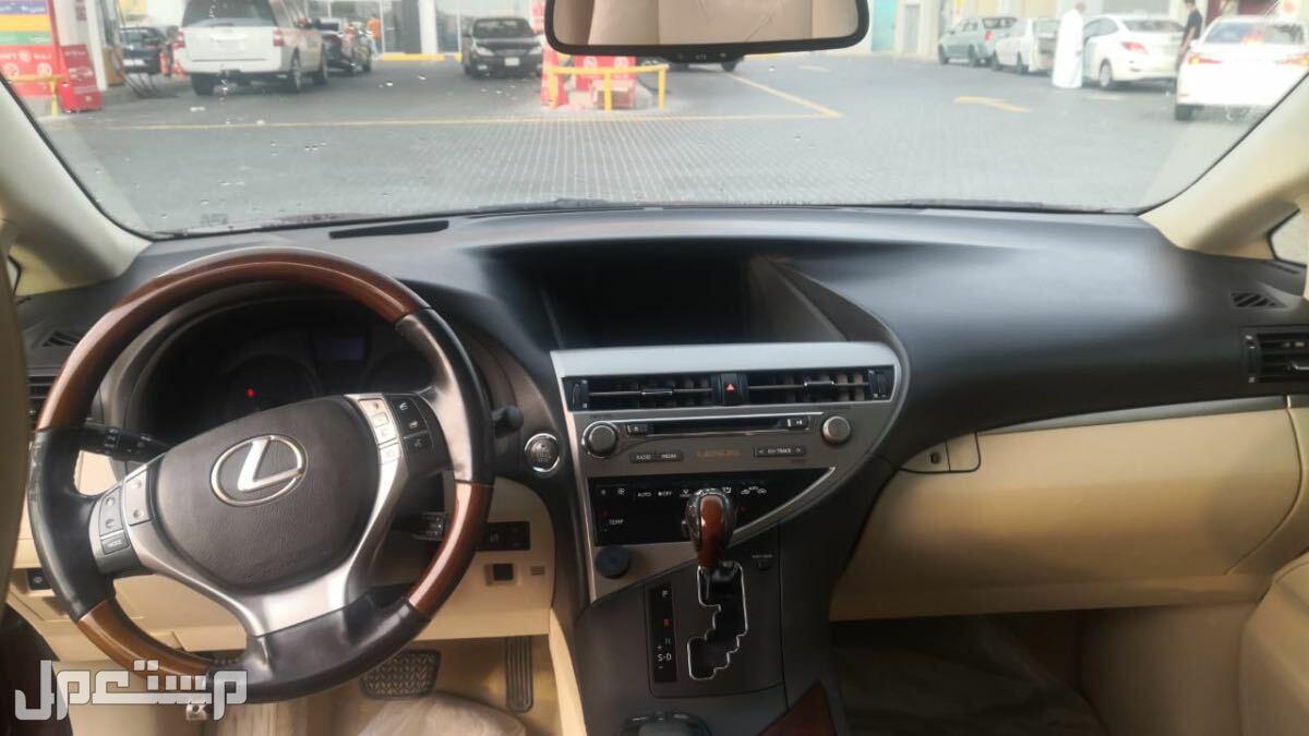 لكزس RX 2013 مستعملة للبيع