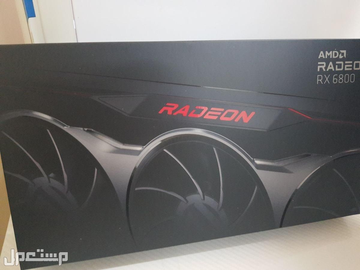 كرت شاشة AMD RX 6800 جديد