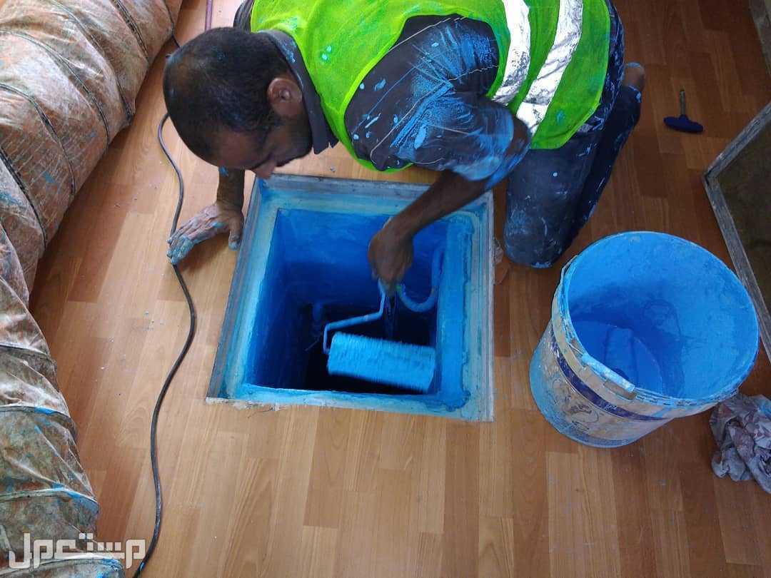 شركة تنظيف خزانات بالرياض عزل خزانات بالرياض غسيل خزانات
