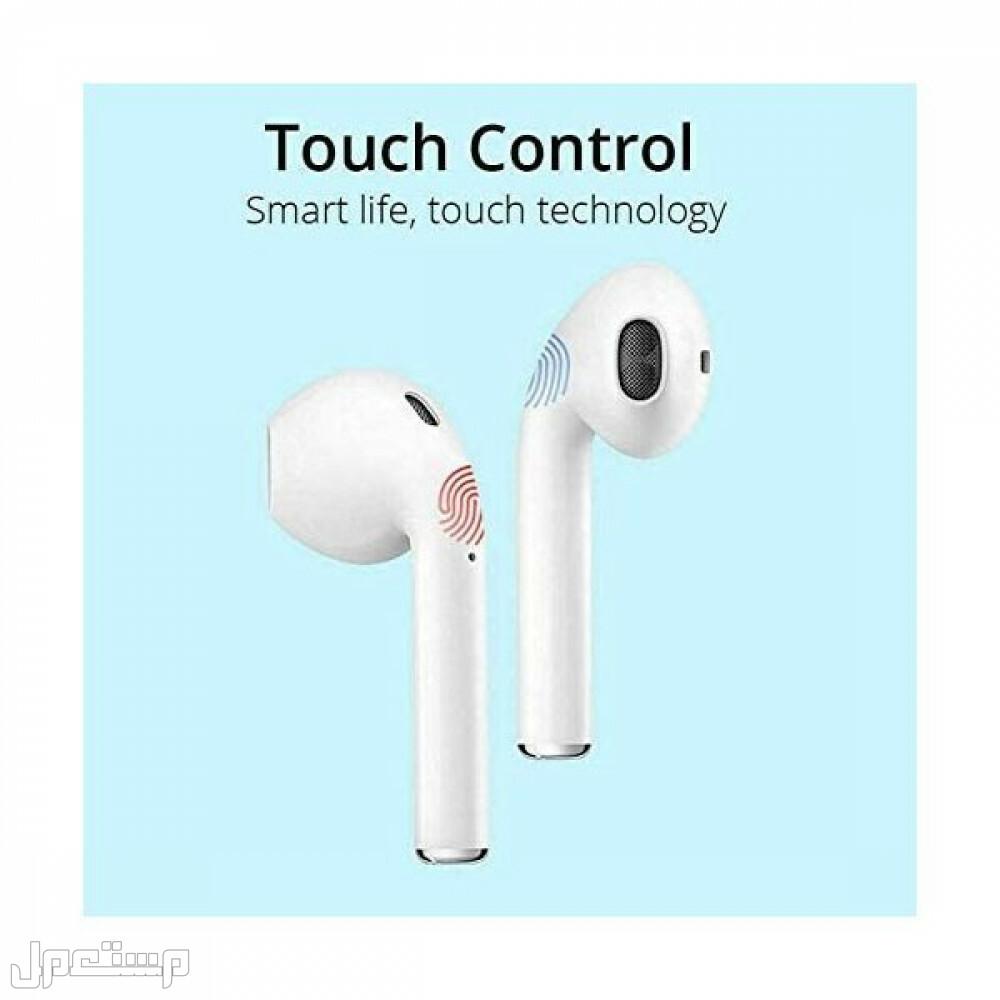 سماعات اذن لاسلكية بلوتوث بتقنية اللمس بسعر خيالي اضافة الى كود خصم اضافي