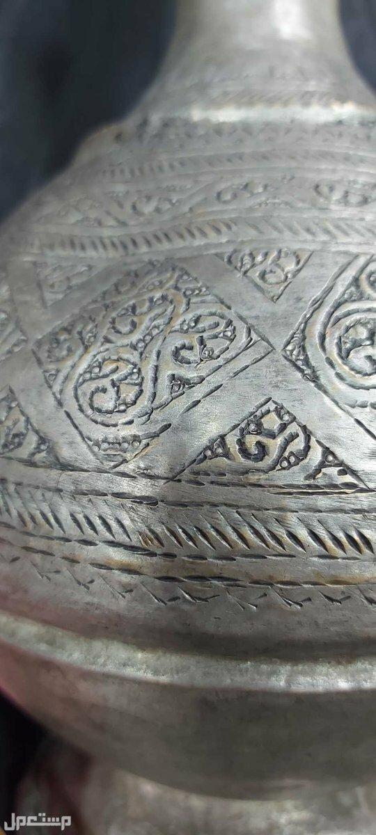 ابريق تراثي اسلامي تحفة نادرة حجم كبير تشكيلات بالنقش الاندلسي الجميل