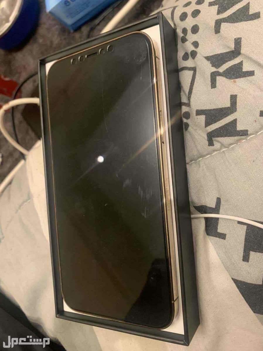 آيفون 12برو ماكس ذهبي GB256