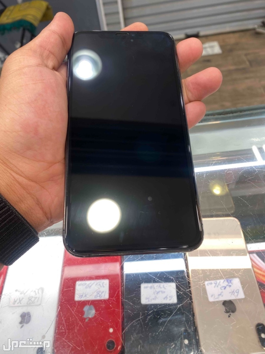 للبيع ايفون اكس اس ماكس 256 مستخدم