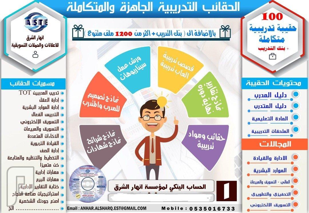 حقائب التعليم والاشراف التربوي حقائب جديدة