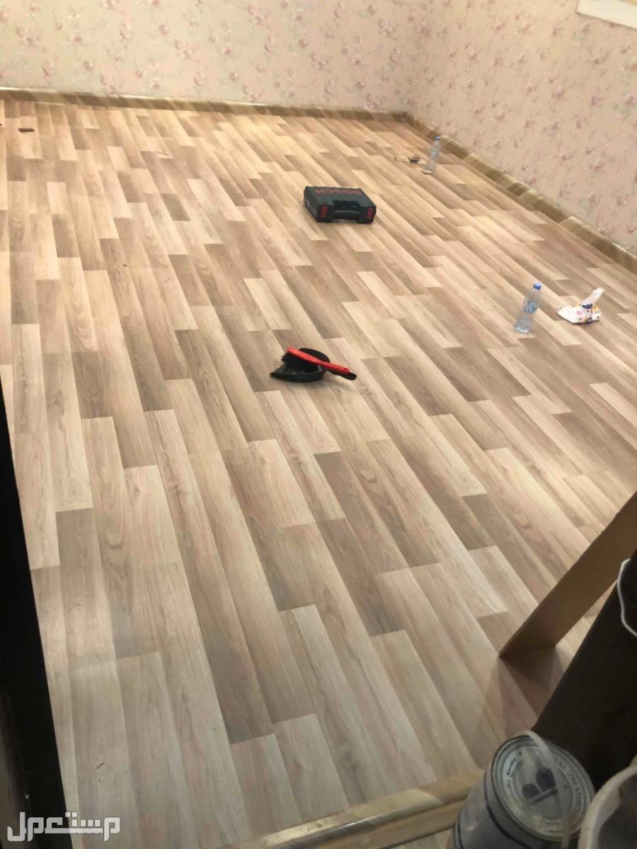 باركيه خشب تركي 58﷼ للمتر المربع شامل التركيب والاكسسورات