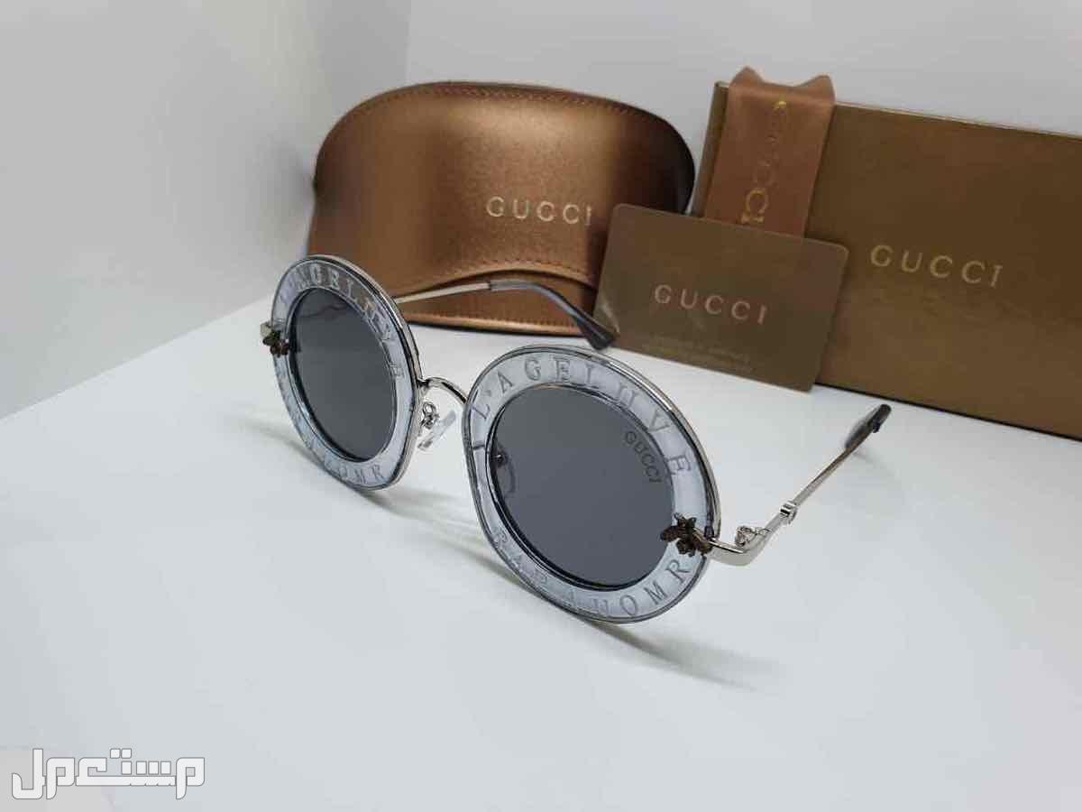 نظارات ماركات مختلفه شانيل قوتشي ديور كارتير فرزاتشي درجه اولى مع الملحقات