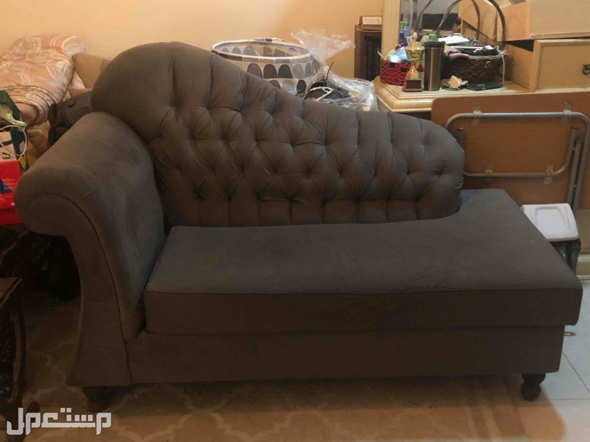 قطعة أريكة رمادية