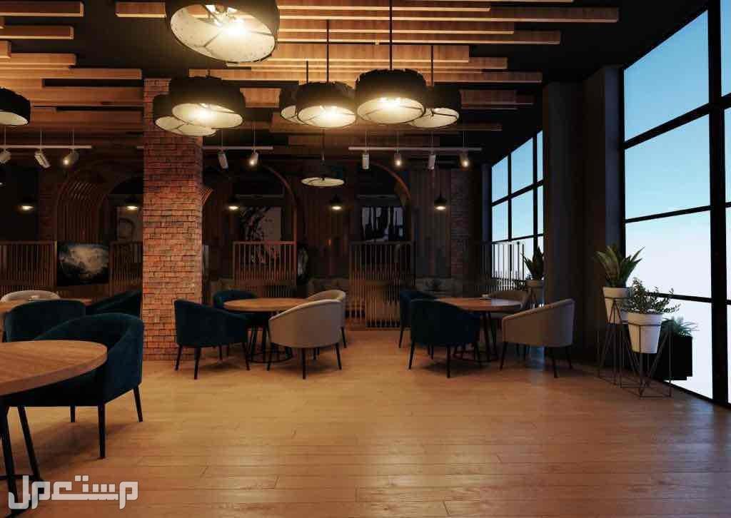 تصميم - تنفيذ المطاعم والكافيهات والمقاهي والمراكز التجارية تسليم مفتاح