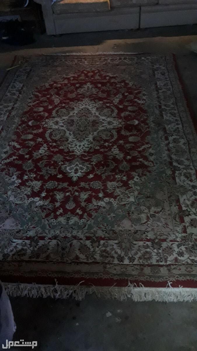 سجاده ايراني مستعمل نظيف مقاس 2×3
