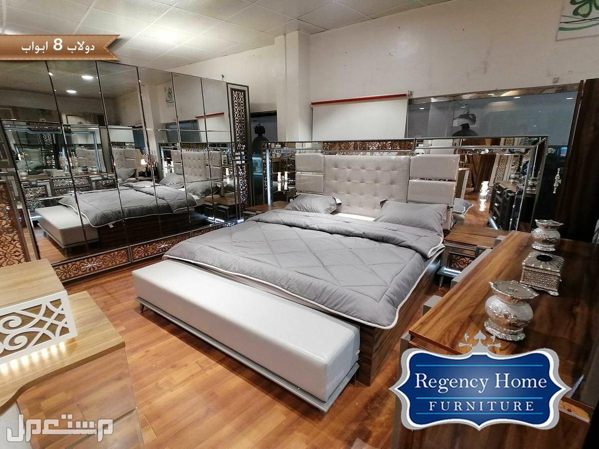 غرفة نوم راقية بتصميم عصري غرفة نوم راقية بتصميم عصري