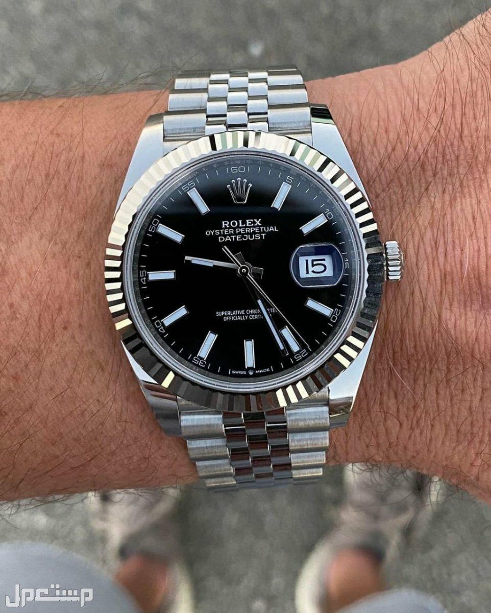 ساعة ماركة رولكس رجالي درجة أولى مكينةاوتوماتيك