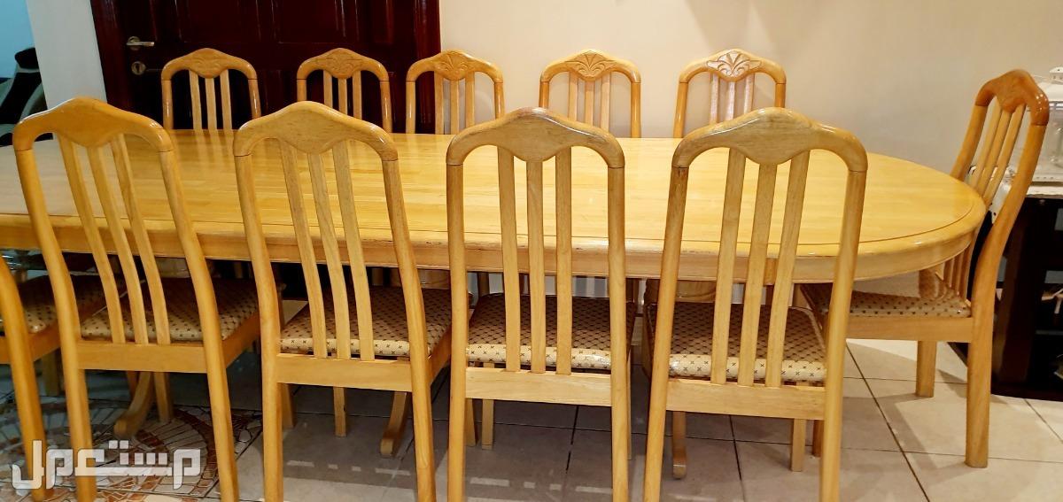 طاولة طعام 12 كرسي
