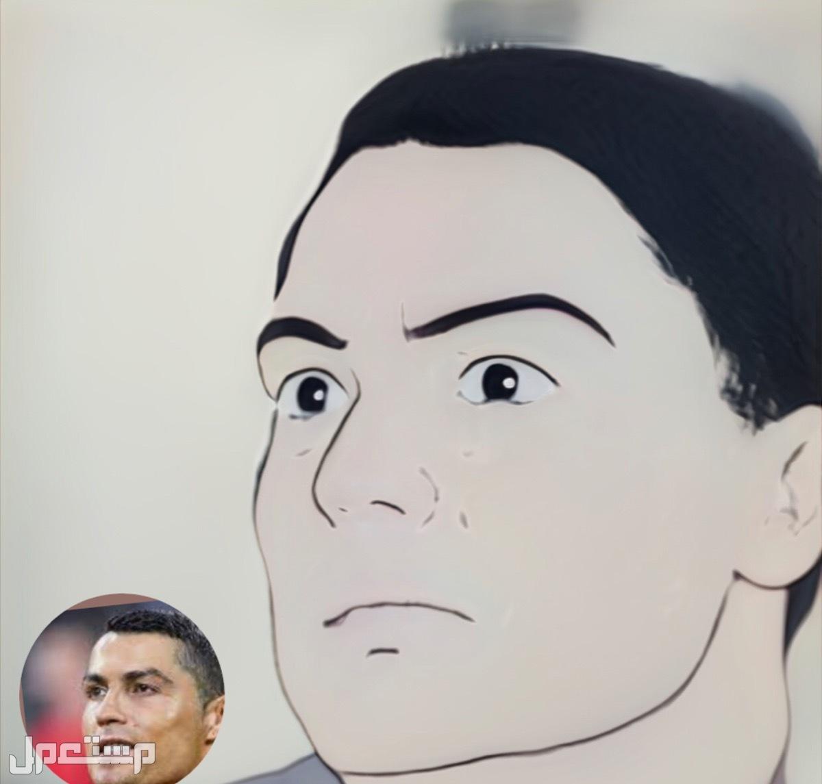 جازان حياء الصفا هدا كريستيانو رونالدو على شكل انمي(انمي رقم1