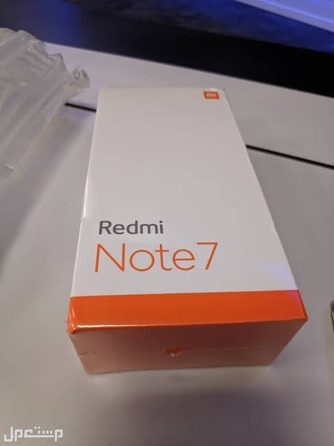 شاومي ريدمي نوت 7 Xiaomi Redmi note ذاكرة 128 جيجا و رامات 4 جيجا كارتونة الموبايل