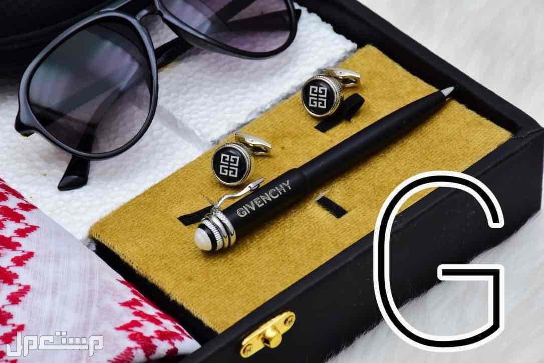 بوكس رجالي كارتير جفنشي قماش شماغ نظاره قلم كبك خاتم تصميم بالطلب