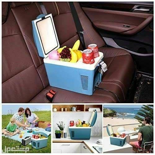 ثلاجة السيارة لتبريد وتسخين وحفظ الأطعمة والأدوية بأحجام مختلفة